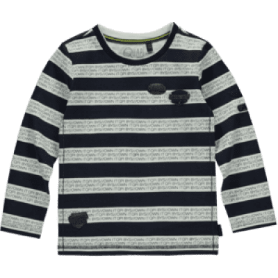 Foto van Quapi boy Tessel Longsleeve Dark blue stripe