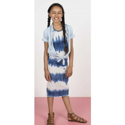 Flo maxi dress blue