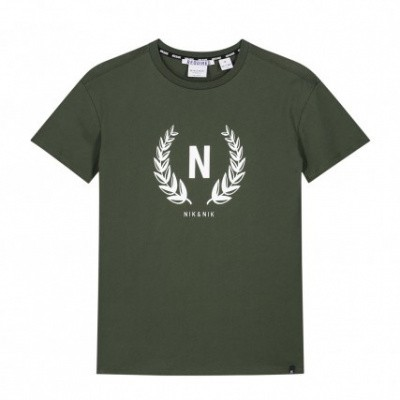 Foto van Nik & Nik boys Axel T-shirt Military green