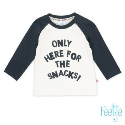 Feetje baby boy longsleeve off white hero