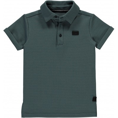 Foto van Levv boys polo Bas grey steel