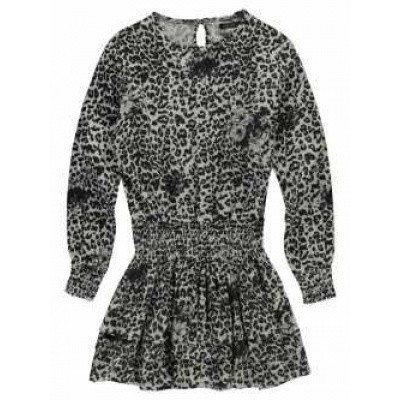 Foto van Levv girls Darleen Dress Black Leopard
