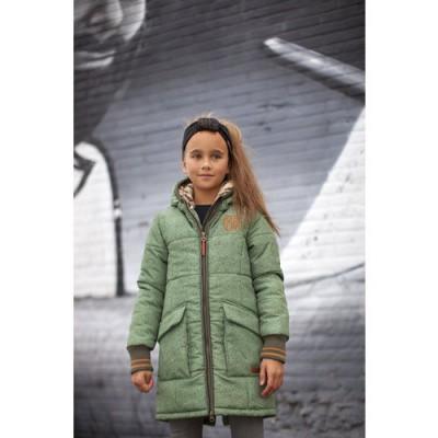 Foto van Moodstreet meiden winterjas groen
