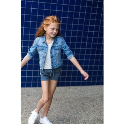 Foto van Levv Girls Short Blossom Indigo Blue