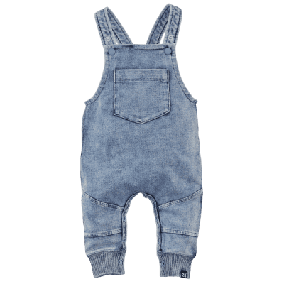 Foto van Z8 unisex newborn Tuinbroek Jeans