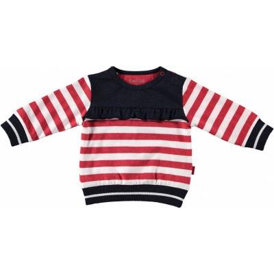Foto van Bess newborn sweater striped ruffle