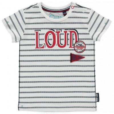 Quapi baby boy Ricardo navy stripe white