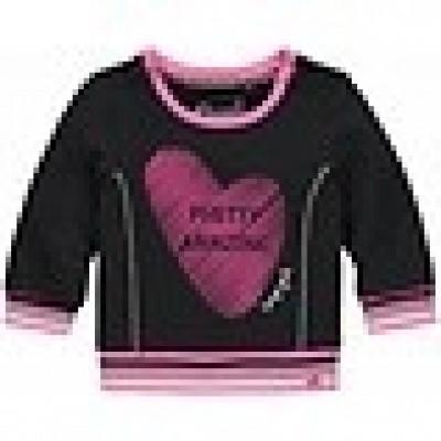 Quapi Baby girls Mara Sweater Grey