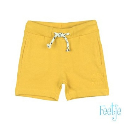 Feetje Baby Boy Short Born To Be Wild Yellow