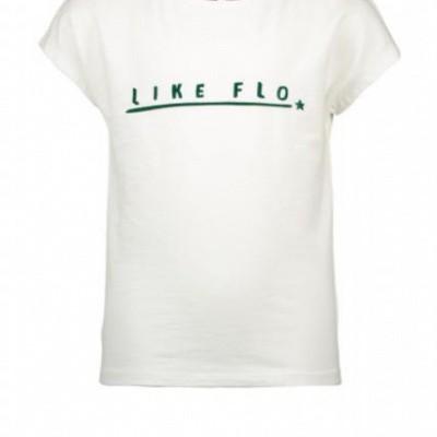 Foto van Flo shirt off wihte like flo