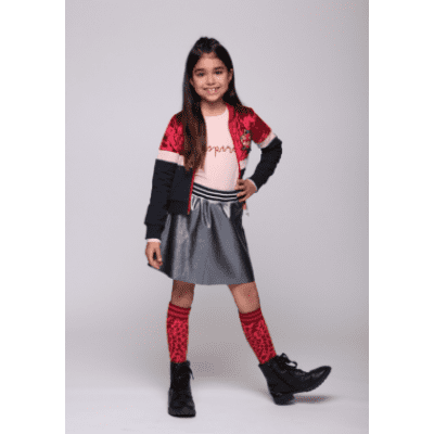 Foto van Little miss Juliette Bomber MUL