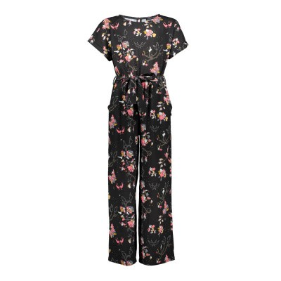 Foto van Franky & liberty girls flower print jumpsuit