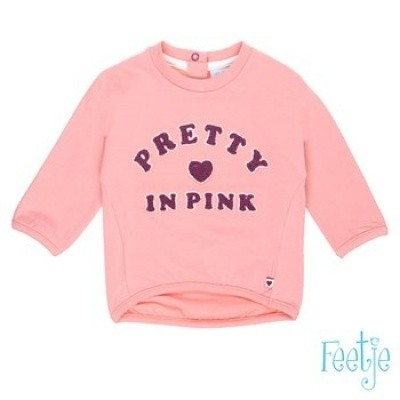 Feetje baby girl sweater pink pretty with pink