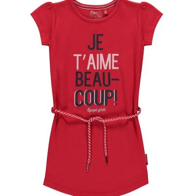 Quapi dress Saar 2 rouge red
