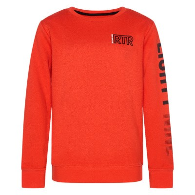 Foto van Retour boys sweater Gino warm red