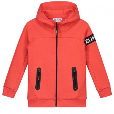 Nik & Nik boys Murphy Jacket Sport Orange 3506