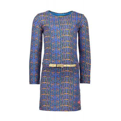 Kidz-art dress multi blue