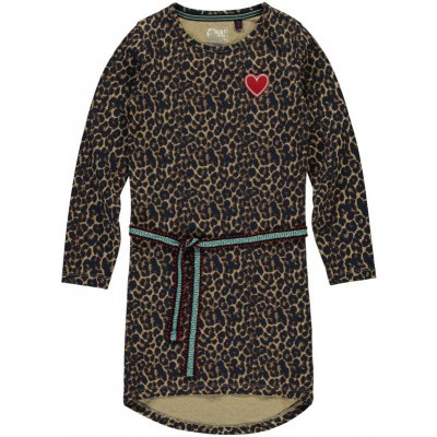 Quapi girls Tamia 2 Dress Leopard