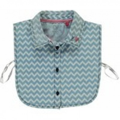 Quapi girls Collar Siara 2 Denim Zigzag