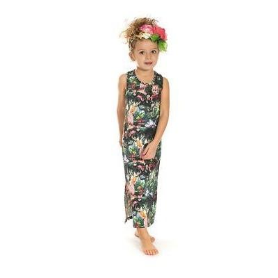 Foto van Funky xs girls botanic maxi dress