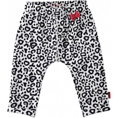 Foto van Bess newborn pants leopard AOP dessin