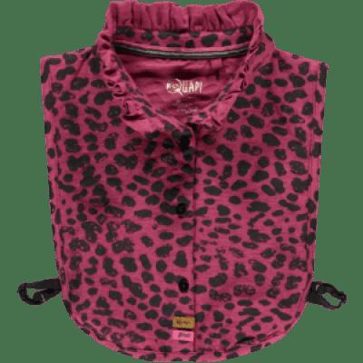 Quapi girl Tinca Collar Bordeaux Leopard