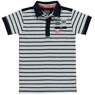 Foto van quapi boy polo shane navy stripe