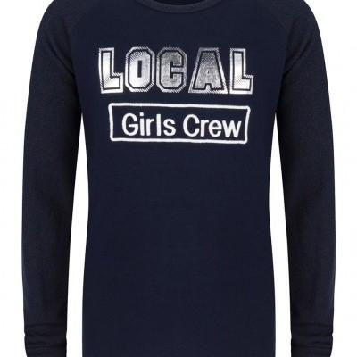 Indian blue girls longsleeve ls local