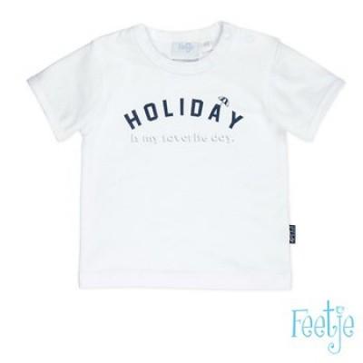 Foto van Feetje baby boy t-shirt wit