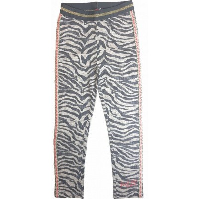 Quapi girls legging Shelley grey zebra
