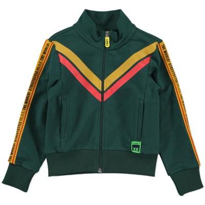 Foto van Funky xs boys sport jacket bottle green