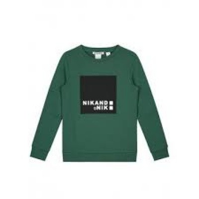 Foto van Nik & Nik Boys Addy sweater Field Green