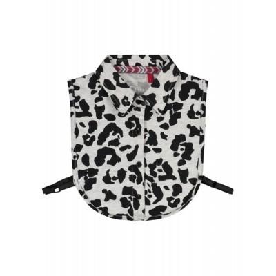 Quapi collar Noah dark grey leopard