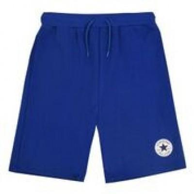 Converse boy short patch blue
