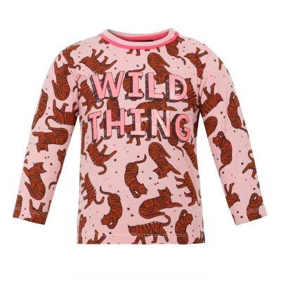 Foto van Beebielove baby girls Longsleeve Wild Thing Pink