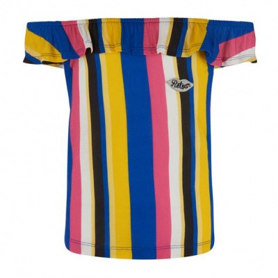 Retour girls top Rosita Multi color stripe