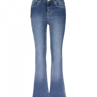 Frankie & Liberty Marla Flara Jeans Denim Blue