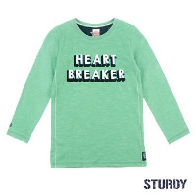 Foto van Sturdy Longsleeve Heart Breaker - Tuning Vibes Mint