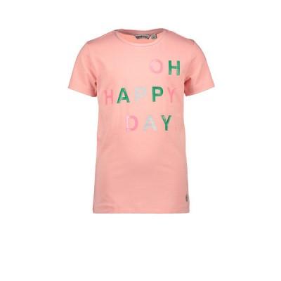 Foto van Moodstreet tshirt pink oh happy day