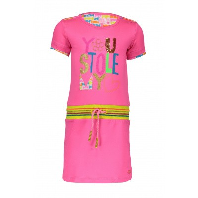 Kidz-art jurk pink