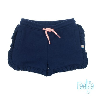 Foto van Feetje Girls Short Botanic Blush Marine