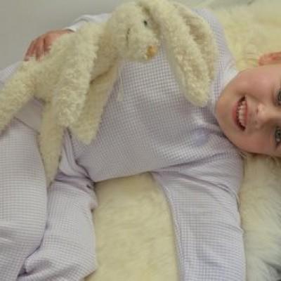 Foto van Feetje pyjama wafel Lila Summer Special Baby