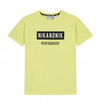 Nik & Nik boys Reintroduced T-shirt Dust Yellow