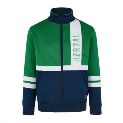 Foto van Retour boys jacket Andrew green/navy