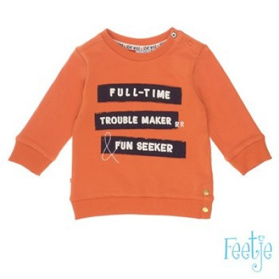Foto van Feetje baby boy sweater orange