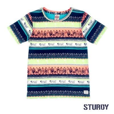 Sturdy T-Shirt AOP Wild Wanderer Indigo