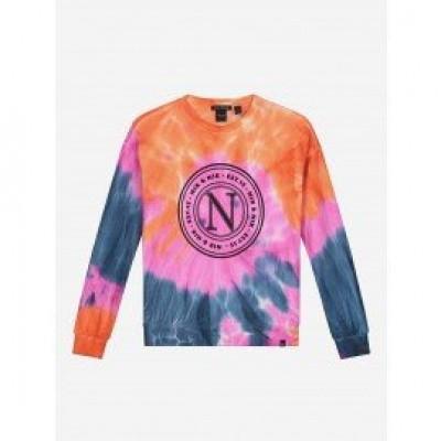 Nik & Nik Girls Lyndi Tie Dye Sweater Multi Colour