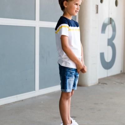 Foto van Levv T-Shirt Flip White