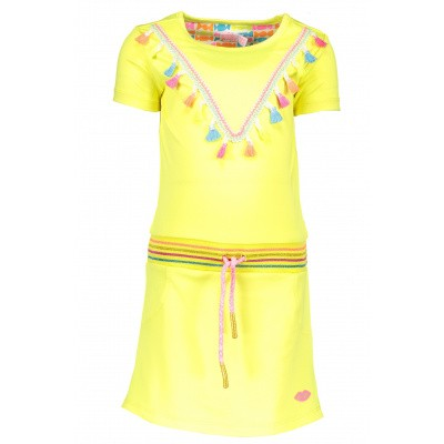 Foto van Kidz-art dress fluo yellow