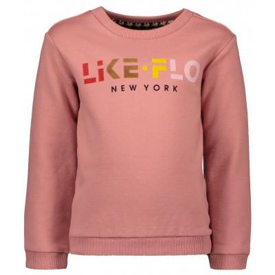 Flo meisjes sweater old pink